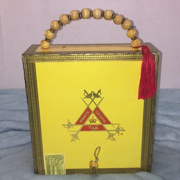 Handbags - Vintage Cigar Box Purse- Monte Cristo 316e5ac8579f7